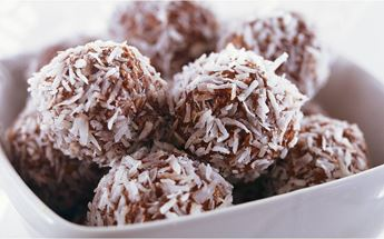 chokladbollar utan smör eller margarin