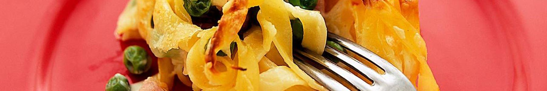 Riven ost + Gratäng + Carbonara