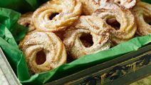 Spritsade kakor med ingefära