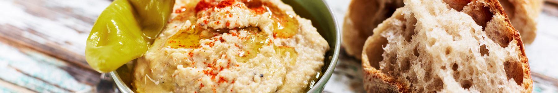 Hummus + Tillbehör