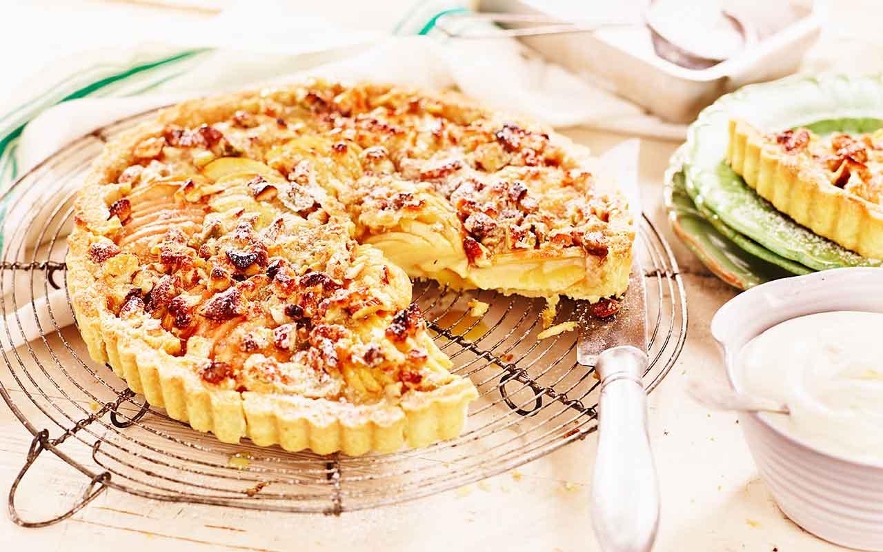 dessert äpple recept