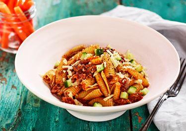 Tacofärs med pasta