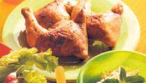 Grillad kyckling med gurksallad