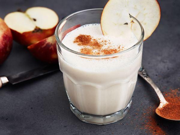 Smoothie med äpple och banan