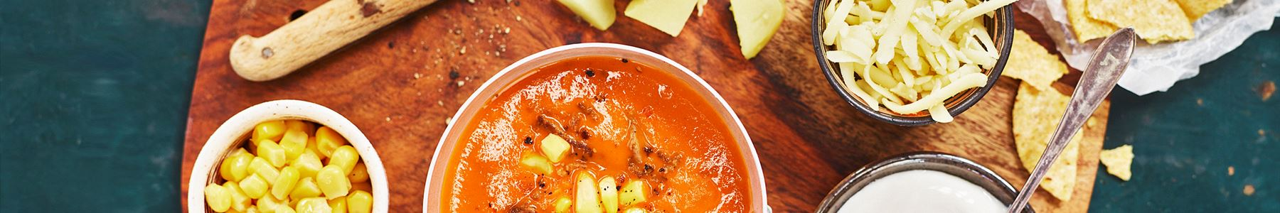 Köttfärs + Gräddfil + Soppa