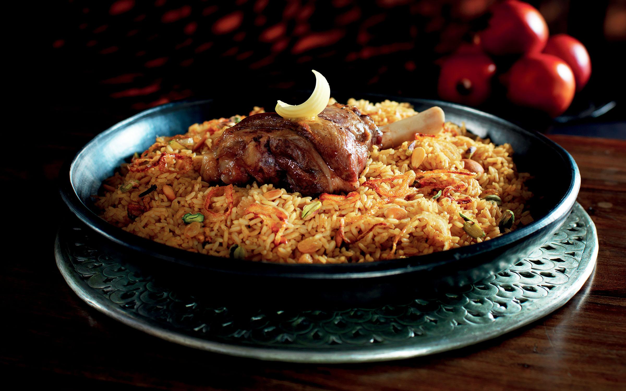 lamm och ris