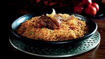 Lamm kaab´sa - lamm med ris, kryddor och nötter