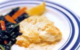 Fisk i ugn med kaviar