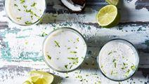 Lime- och kokosmjölk