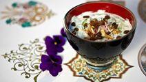 Tsatsiki med russin och valnötter