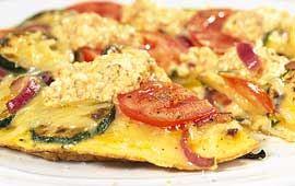 Texmex omelett