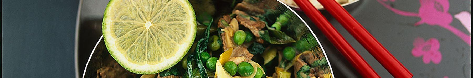 Kött + Curry + Wok