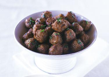 Köttbullar i kryddpepparsmör
