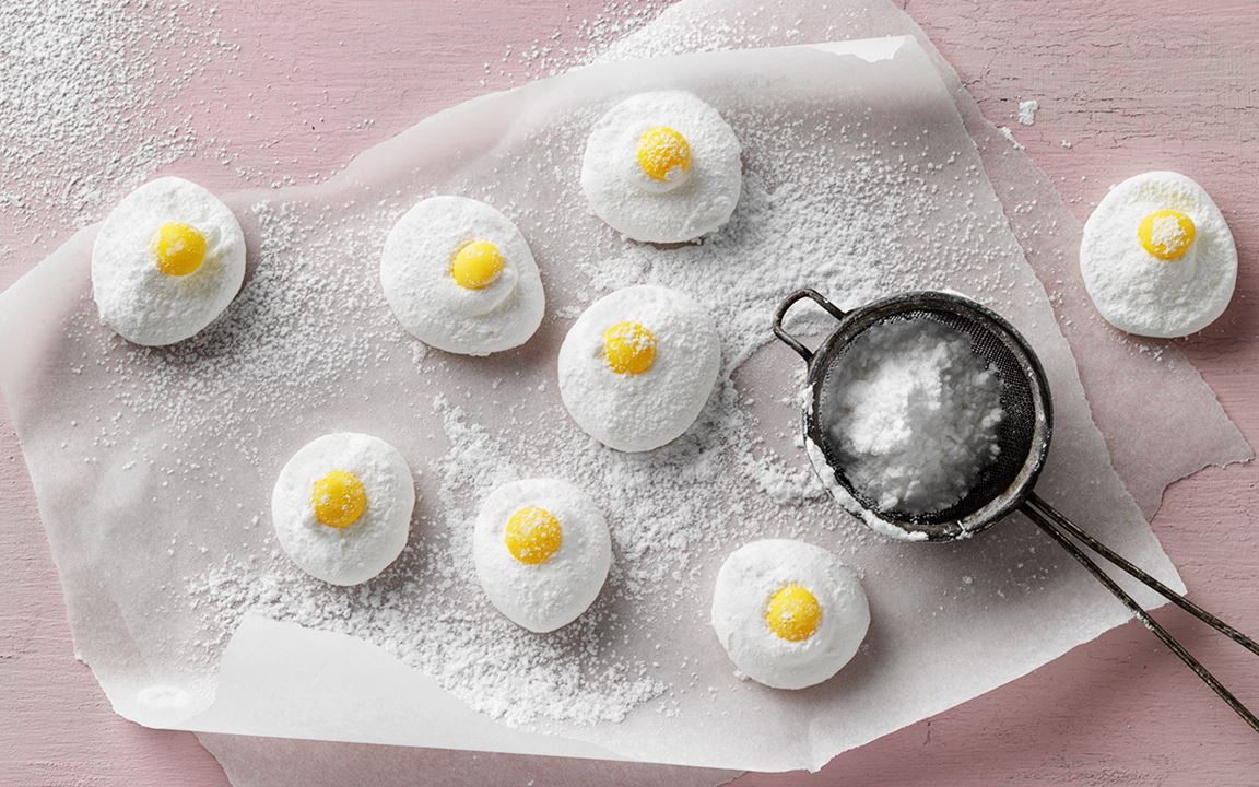 Marshmallows med citrus