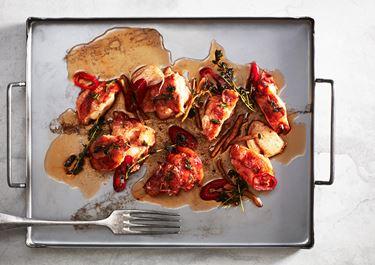 Smörstekt hummer med chili och ingefära
