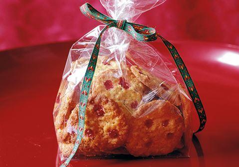 Cookies med lingon