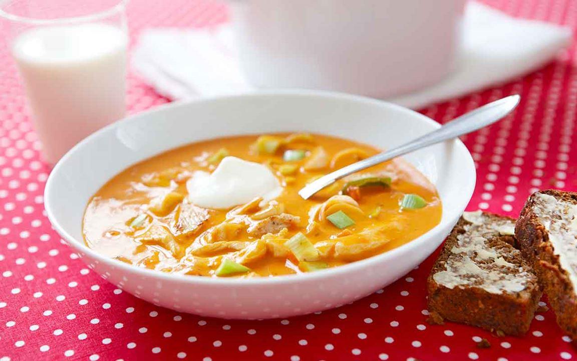 Toscansk soppa med kyckling