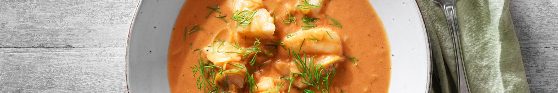 Fisksoppa till huvudrätt