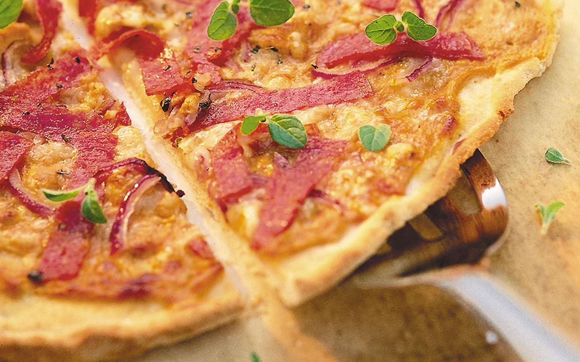 Salamipizza