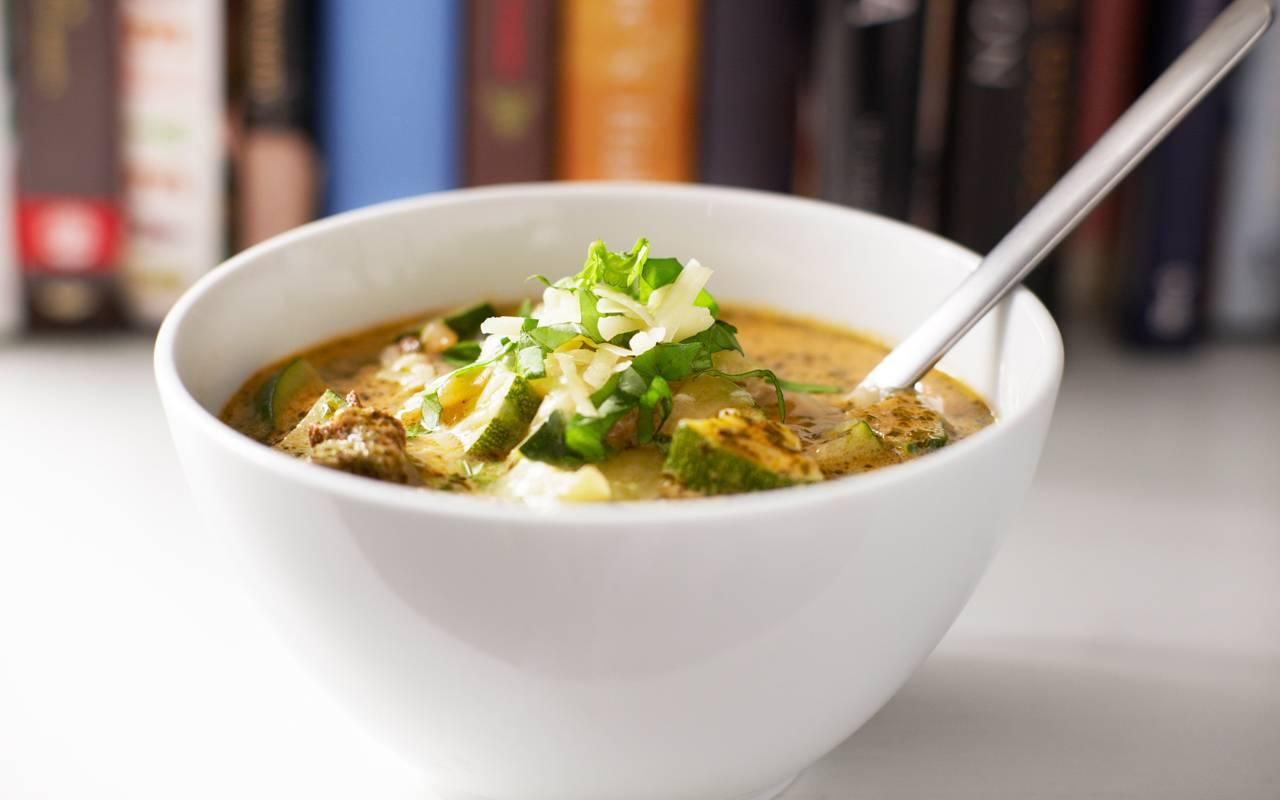 Soppa med högrev