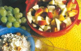 Svalkande fruktsallad