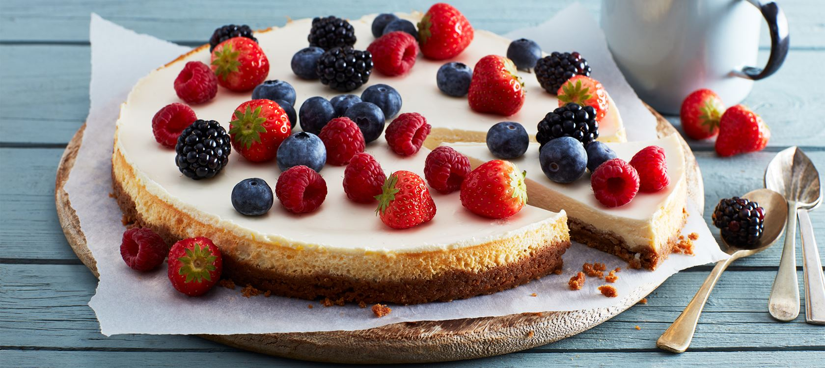 Cheesecake – grundrecept