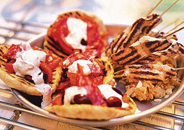 Marockansk kebab med couscous