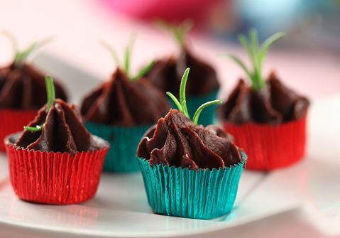Chokladtryffel med rosmarin