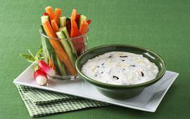 Ostdipp till grönsaker