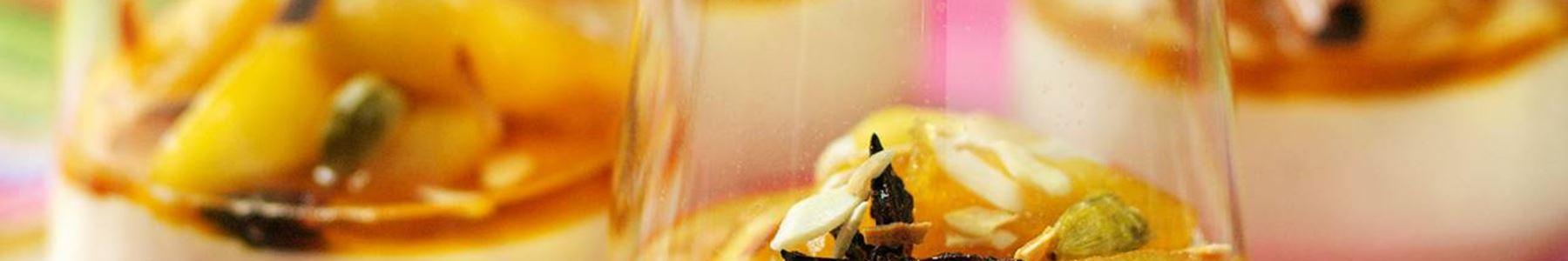 Frukter + Kardemumma + Pannacotta