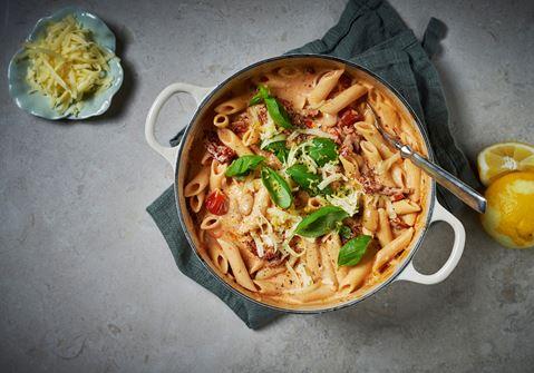 pasta gjord på bönor