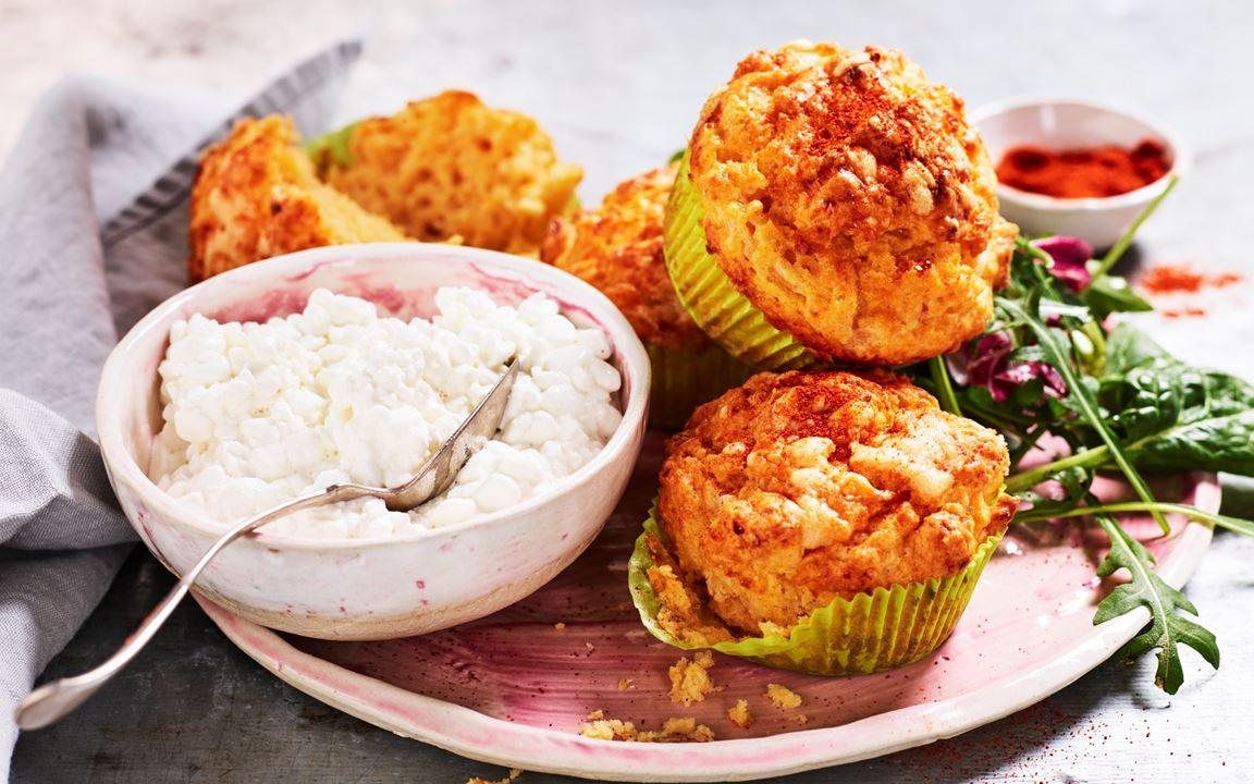 Matmuffins med chilismak