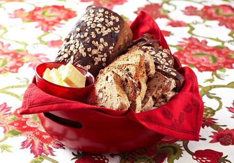 Vörtbröd med dadlar och nötter