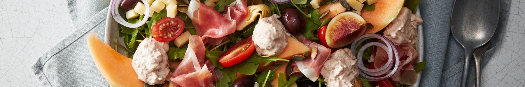 Fikon + Lunch + Sallad