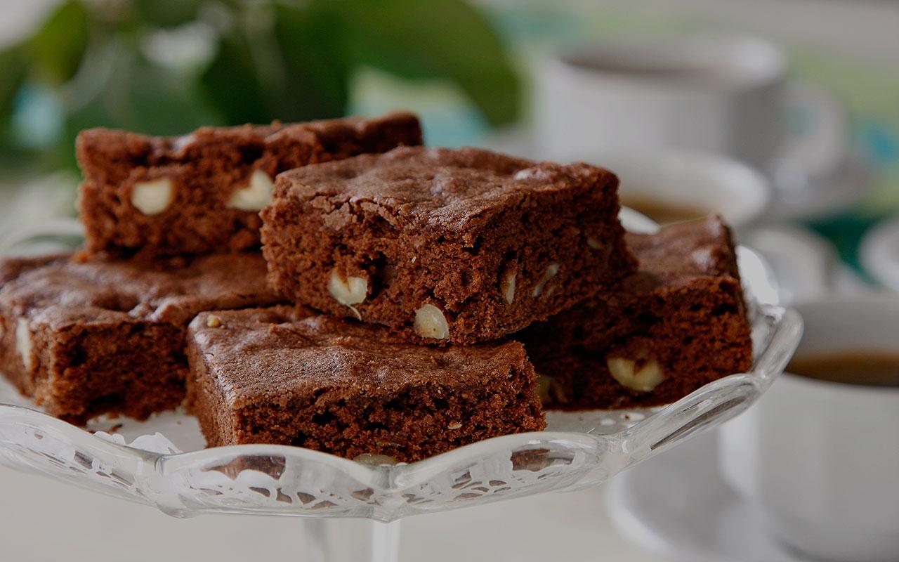 brownie maker recept