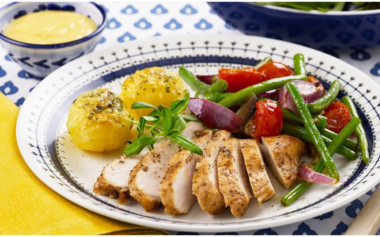 kalorier kycklingfile i ugn