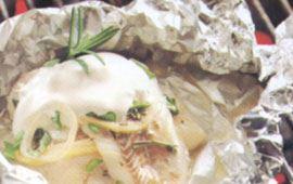 Foliebakad fisk