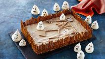 Halloweentårta med choklad
