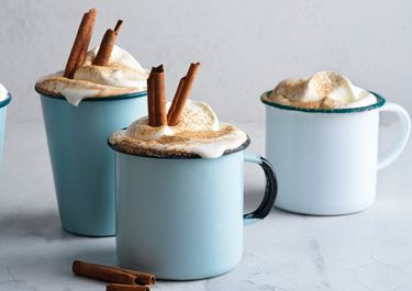 Varm choklad med kanel