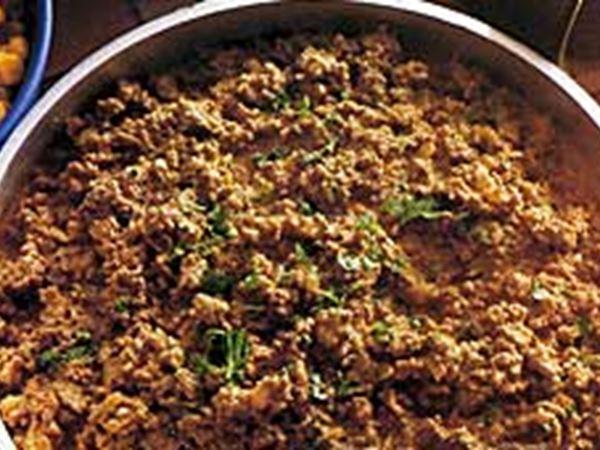 Köttfärssås med senap