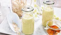 Guldmjölk med havre och ingefära