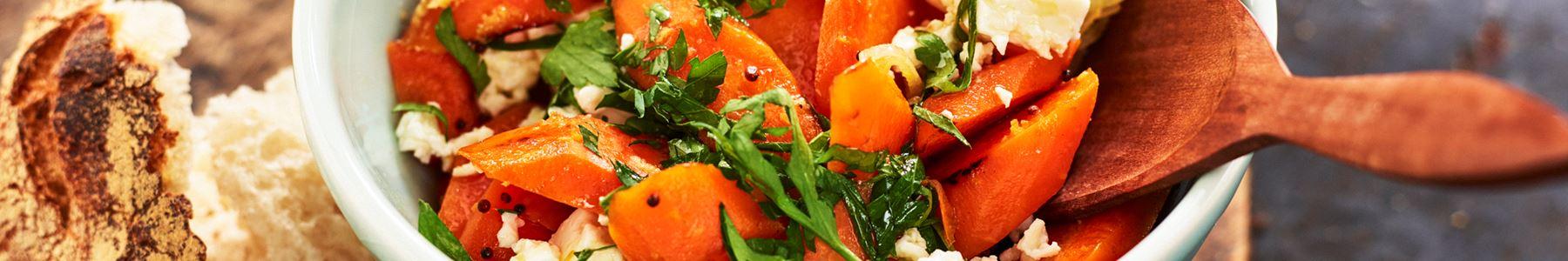 Morötter + Ramadan + Sallad