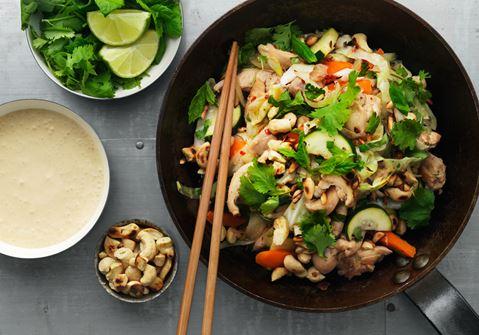 Chicken Vietnam med sojacrème