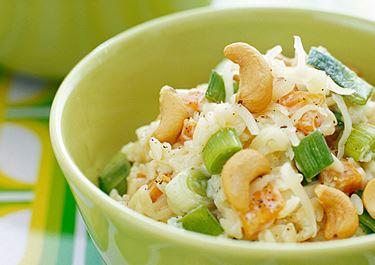 Risoni med krämiga grönsaker