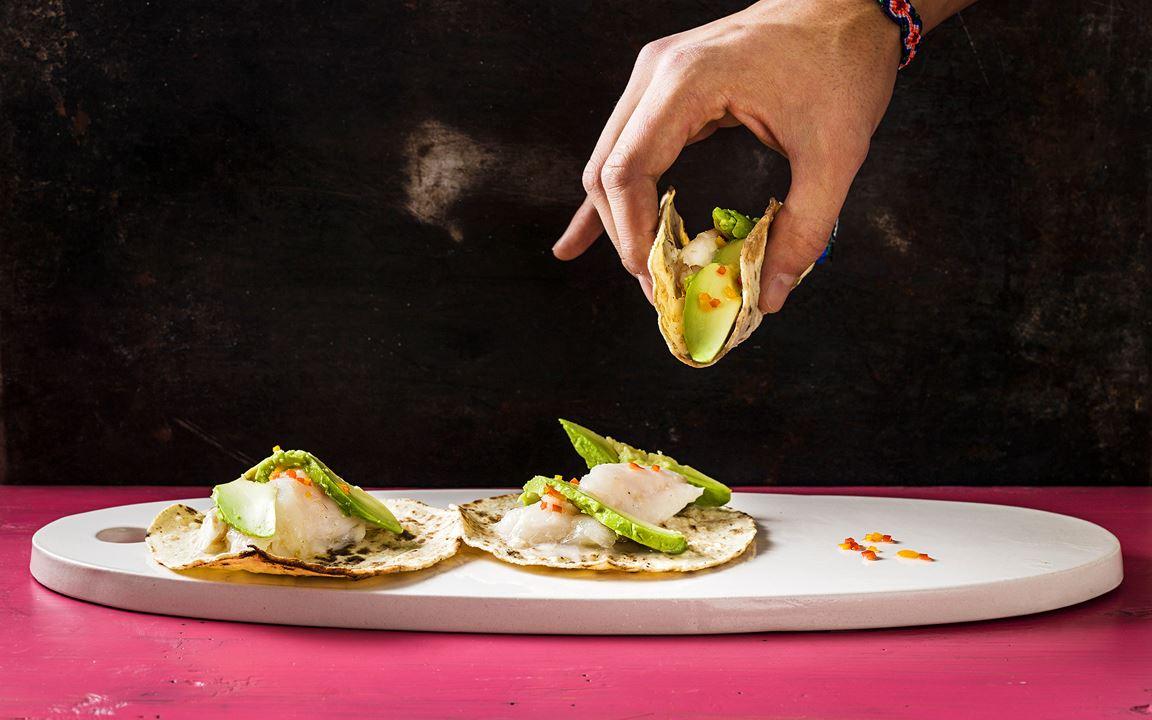 Smörbakad kummel med habanero och avokado