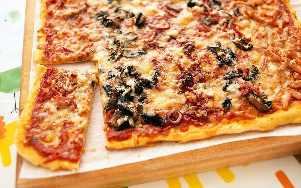 Randig pizza