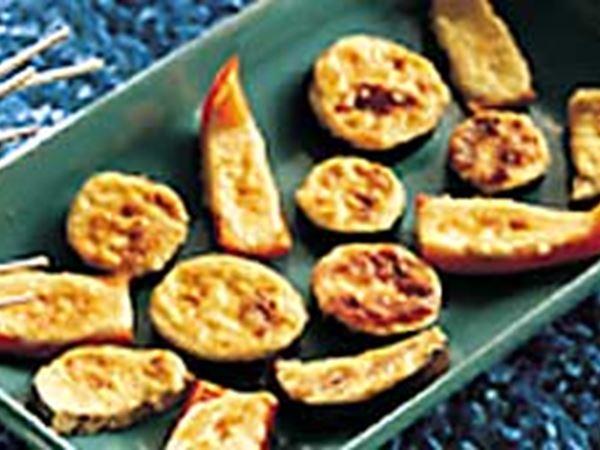 Parmesangratinerade paprikor 24 bitar