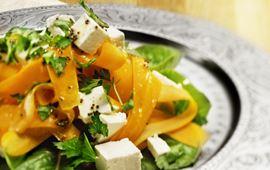 Morotssallad med ost