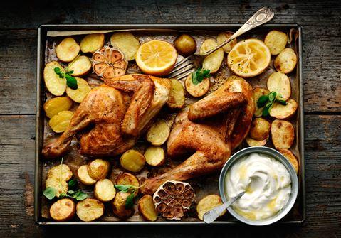 Grillad kyckling med rökt paprika