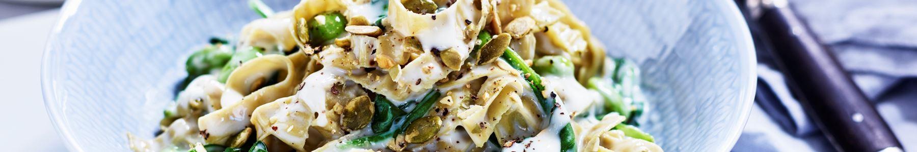 Snabb + Kalorisnål + Spenat + Pasta + Matsedel